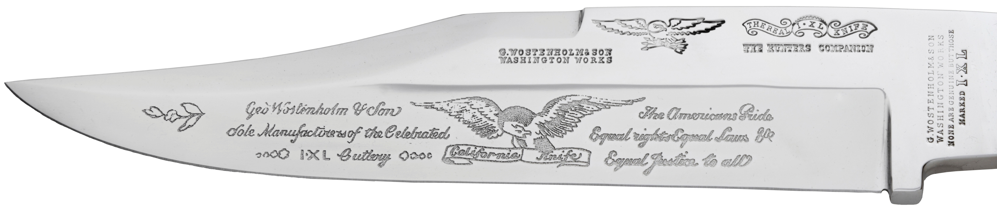 Americans Pride Bowie Blade   Front View